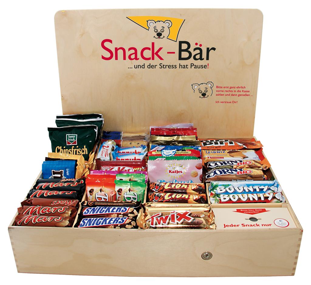Snackbox, Testbox bestellen, Snackbär Home für zu Hause